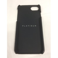 Platinum - Leather Linear Case for Apple iPhone 7 or 6 - Black
