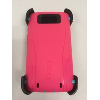 Otterbox Droid Turbo Defender Series Case - Teal/Rose