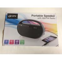 Gpx Portable Am/Fm Radio
