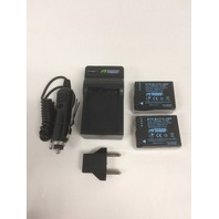 Wasabi Power Battery And Charger Kit For Panasonic Cameras