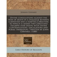 Early History of Religion by Johann Gerhard