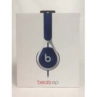 Beats EP Wired On-Ear Headphone - Blue and Silver