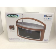 Jensen SMPS-725 Bluetooth Stereo Speaker with FM Radio