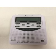 Midland WR-120B NOAA Weather Alert All Hazard Public Alert Certified Radio