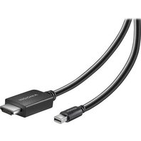 INSIGNIA - 6FT Mini DisplyPort to HDMI Cable