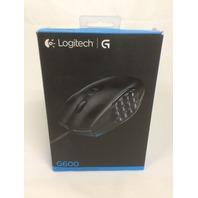 Logitech G600 MMO Gaming Mouse, Black - SEALED