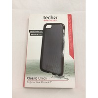 TECH21 T21-4253 Impactology Classic Check Phone Case for iPhone 6 - Smoke