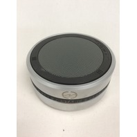 CLOUDZONE Wireless Bluetooth Speakers, Micro SD Card Support, 3.5mm Aux, Silver