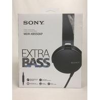 Sony XB550AP Extra Bass On-Ear Headphone, Black (2017 model)