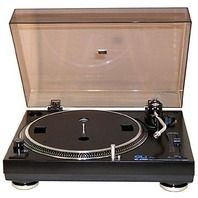 GLi SL2500 Direct Drive Manual Arm DJ Record Turntable, needs headshell & needle