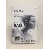Sony MDR-XB50BS/B Wireless, In-Ear, Sports Headphone, Black
