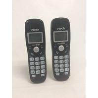 VTech - 2-Handset Cordless Phone System - Black Cs6949-2