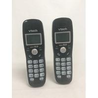 VTech CS6114-21 2-Handset Cordless Phone System - Black