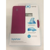 Speck Products StyleFolio Case for iPad Mini/2/3 - Fuchsia Pink/Nickel Grey