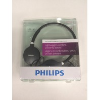 Philips SHL1700/28 Lightweight Headphone (Black)
