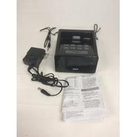 RCA RC127i Clock Radio With iPod/iPhone  Charging/Playing Dock, Black