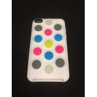 Incipio Dotties Silicone Case for iPod Touch 4G - White