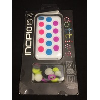 Incipio Dotties Silicone Case for iPod Touch 4G - White
