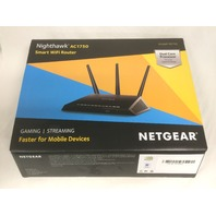 Netgear Nighthawk R6700-100nas Ac1750 Smart Dual Band Wi-Fi Gigabit Router