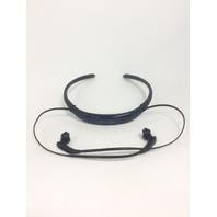 Samsung Level U Pro Stereo Bluetooth In-Ear Headphones, Black Sapphire