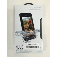"Lifeproof NÜÜD SERIES iPhone 6s Plus ONLY Waterproof Case (5.5"" Version) BLACK"