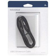 Insignia 1.8m (6 ft.) USB 2.0 Extention Cable (NS-PU065AA-C)