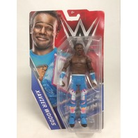 Mattel Wwe Wrestling Basic Elite Series 64 Xavier Woods Action Figure Day