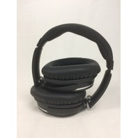 Jiffy Noise Canceling Wireless Bluetooth Over-ear Stereo Headphones w/Mic, Black