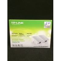 TP-Link AV500 Nano Powerline Adapter Starter Kit