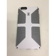 Speck - Candyshell Grip Case For Apple iPhone 6 PLUS and 6s PLUS - White/black