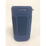 CLEARON Bluetooth Speaker, Wireless & Waterproof with Bike Mount & Remote, Blue