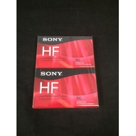 Sony C90HFR/2 90 Minute HF Audio Tape - 2 Pack - SEALED