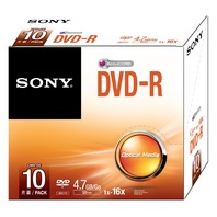 Sony DVD-R - 10 pack