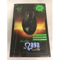 Razer Naga Left-Handed - Ergonomic MMO Gaming Mouse, 8200 Adjustible DPI