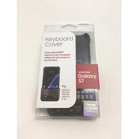 Samsung Galaxy S7 Keyboard Cover - Black