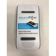 Soundflow Soundboard Wireless Portable Speaker, no setup necessary, White