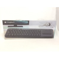 Logitech Living-Room Wireless Keyboard, Built-In Touchpad for TV-Connected PCs