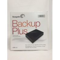 Seagate Backup Plus 3TB Desktop External Hard Drive USB 3.0 (STDT3000100)
