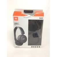 JBL Pure Bass Sound Bluetooth T450BT Wireless On-Ear Headphones Black