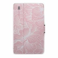Speck Stylefolio Vegan Leather Case Cover for Verizon Ellipsis 8 - Floral Pink