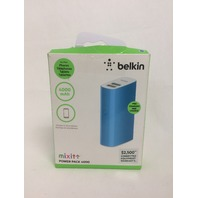 Belkin MIXIT Power Pack 4000 mAh Battery Pack with 6-Inch Micro USB Cable (Blue)