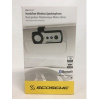 SCOSCHE Hands-free cellVISOR Bluetooth Speakerphone for Universal - Black