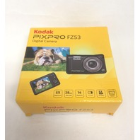 "Kodak PIXPRO FZ53 16 MP Digital Camera, 5X Optical Zoom, 2.7"" LCD Screen (Black)"