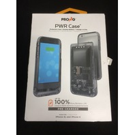 Prong iPhone 6s Battery Case, Removable Backup Battery, 2600 mAh, Translucent