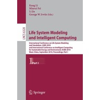 Life System Modeling And Intelligent Computing: