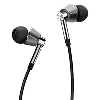 1MORE Triple Driver In-Ear Headphones iOS and Android Comp Mic (Silver) - SEALED