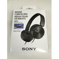 Sony MDR-ZX110NC Headphones Noise Canceling - Black - SEALED