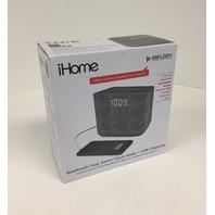 iBT232GC Bluetooth Dual Alarm Clock Radio, Speakerphone & USB Charging