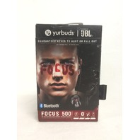 Yurbuds Focus 500 Men's In Ear Wireless Sport Headphones - one ear piece missing