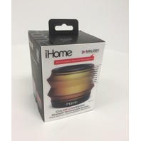 IHOME IBT62B Portable Collapsible Bluetooth Color Changing Speaker